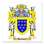 Bailloux Square Car Magnet 3