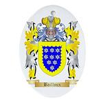 Bailloux Ornament (Oval)