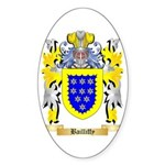 Bailliffy Sticker (Oval 50 pk)