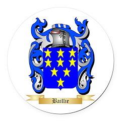 Baillie Round Car Magnet