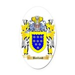 Baillaud Oval Car Magnet