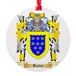 Bailey Round Ornament