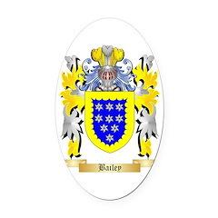 Bailey Oval Car Magnet