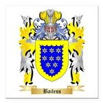 Bailess Square Car Magnet 3