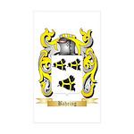 Bahring Sticker (Rectangle 50 pk)