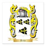 Bahr Square Car Magnet 3