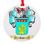 Bahn Round Ornament