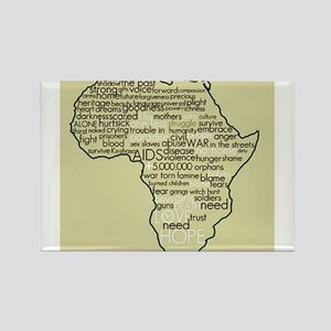 Congo Awareness Rectangle Magnet