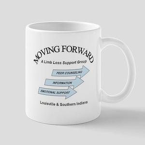 Moving Forward Logo Mug