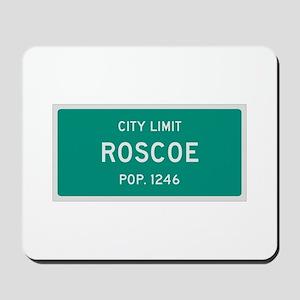 Roscoe, Texas City Limits Mousepad
