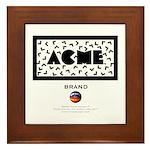ACME Brand Framed Tile