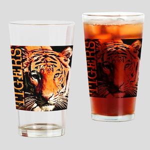 Tigers Premium Edition Drinking Glass