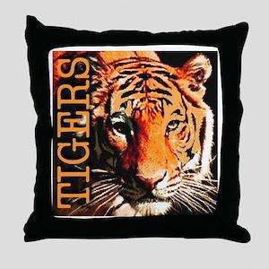 Tigers Premium Edition Throw Pillow