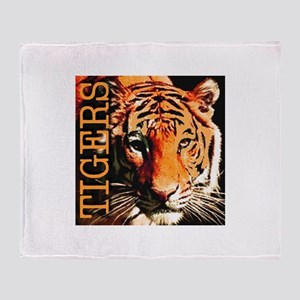 Tigers Premium Edition Throw Blanket