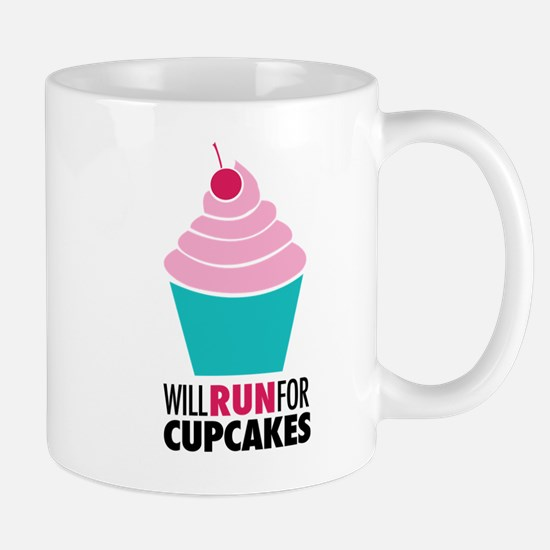 Will Run for Cupcakes Mug