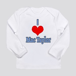 I heart Mac Taylor Long Sleeve T-Shirt