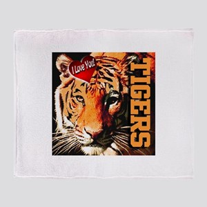 Tigers Throw Blanket
