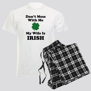 Don't Mess With Me. My Wife Is Irish. Men's Light