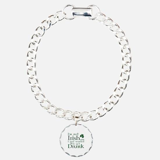 I'm Not Irish Charm Bracelet, One Charm