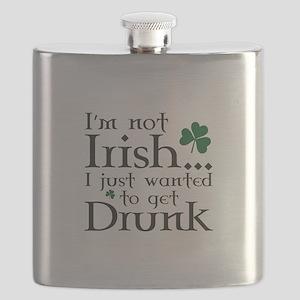 I'm Not Irish Flask