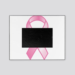 Pink Ribbon Picture Frame