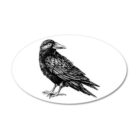 Raven Wall Decal  sc 1 st  CafePress & Raven Wall Decals - CafePress