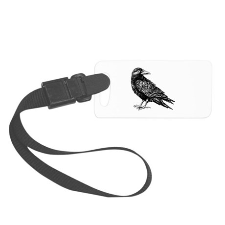 Raven Luggage Tag