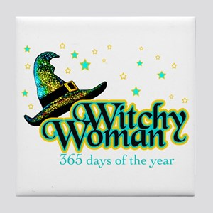 Witchy Woman 365 Tile Coaster