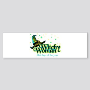 Witchy Woman 365 Bumper Sticker