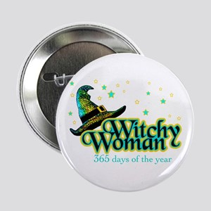 Witchy Woman 365 Button