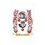 Bagshawe Sticker (Rectangle 50 pk)