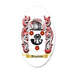 Bagshaw Oval Car Magnet