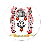 Bagshaw Round Car Magnet