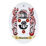 Bagshaw Ornament (Oval)