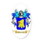 Bagnone Oval Car Magnet