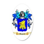 Bagnoli Oval Car Magnet