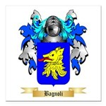 Bagnoli Square Car Magnet 3