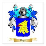 Bagni Square Car Magnet 3