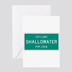 Shallowater, Texas City Limits Greeting Card