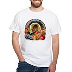 Horn of Plenty White T-Shirt