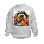 Horn of Plenty Kids Sweatshirt
