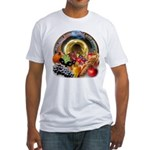 Horn of Plenty Fitted T-Shirt
