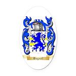 Bagnall Oval Car Magnet