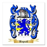 Bagnall Square Car Magnet 3