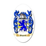 Bagnall 35x21 Oval Wall Decal