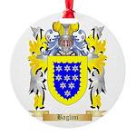 Baglini Round Ornament