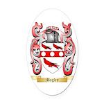 Bagley Oval Car Magnet