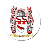 Bagley Round Car Magnet