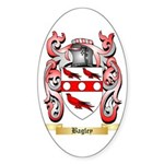 Bagley Sticker (Oval 50 pk)