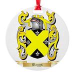Baggs Round Ornament